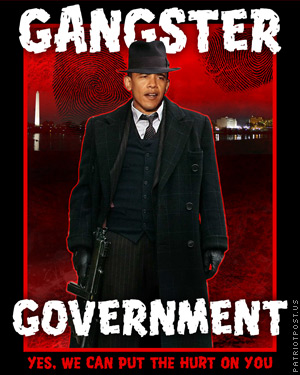 Obama as gangster